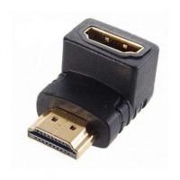 Переходник HDMI угловой (гнездо/штекер)