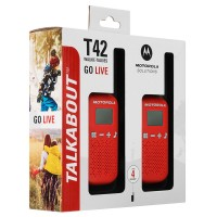 Радиостанция Motorola Talkabout T42 Red/Black 2 шт.