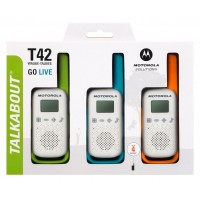 Радиостанция Motorola Talkabout T42 Triple 3 шт.
