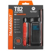 Радиостанция Motorola Talkabout T82 Red/Black 2 шт.